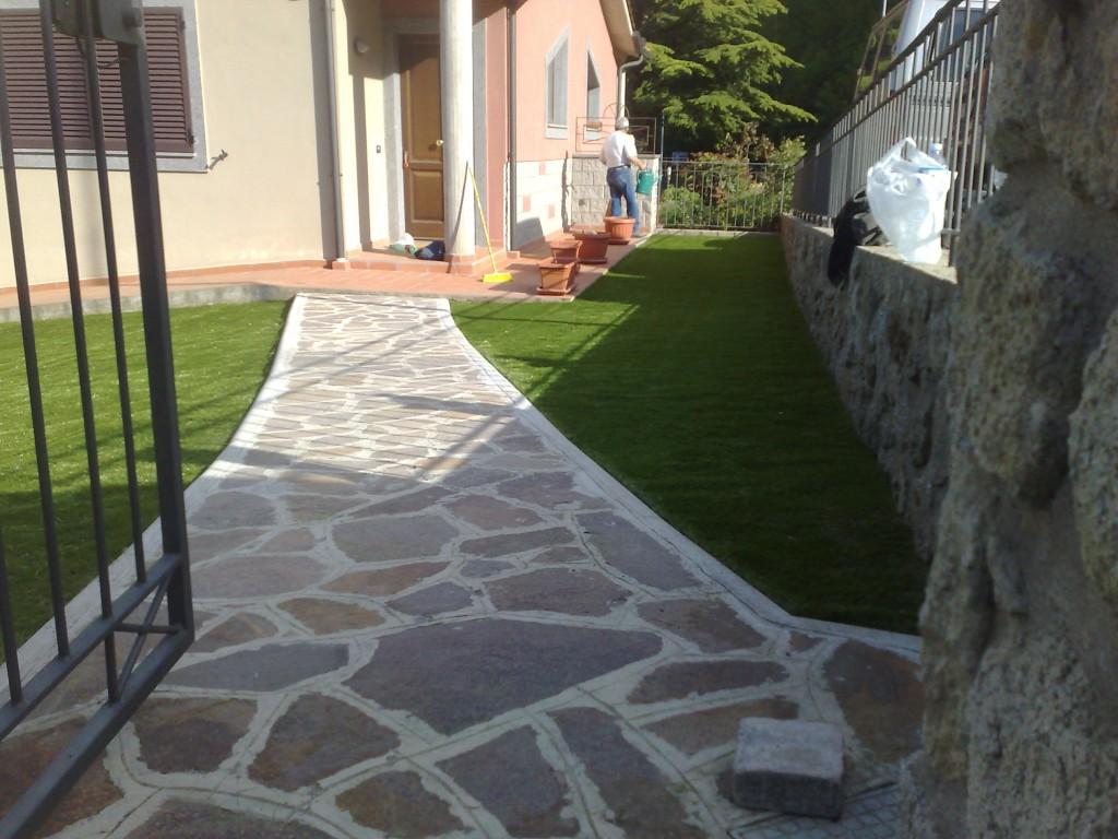 viale erba sintetica